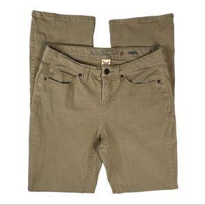 Faded Glory Khaki Stretch Bootcut Jeans / Pants 10